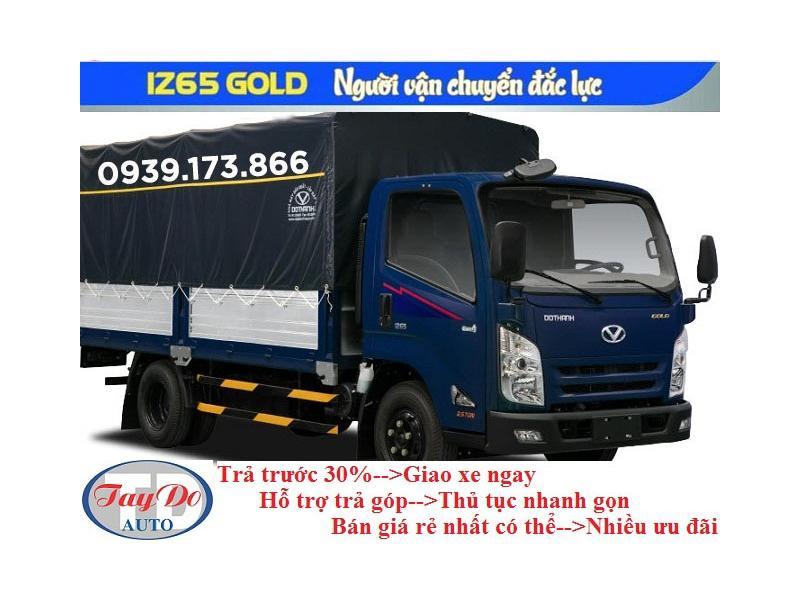 XE TAI IZ65 GOLD 2.5T MUI BAC