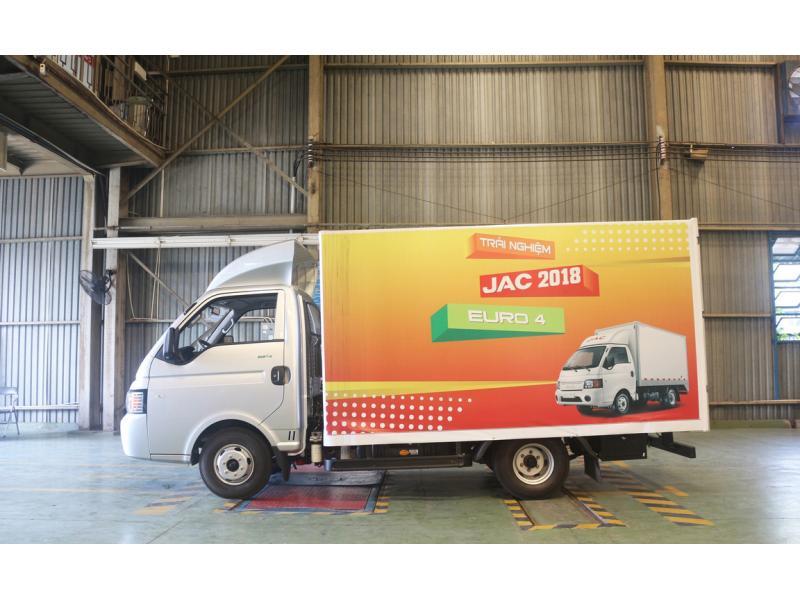 Xe tải Jac 1t25 đời 2018